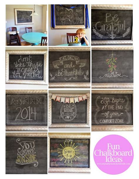 chalkboard paint concepts when writing how i turned a framed painting into an awesome chalkboard