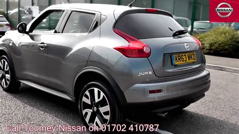 nissan juke grey 2013 nissan juke n tec 1 6l gun kr63wko for sale at