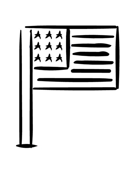 printable us flag to color free american flag printable coloring pages