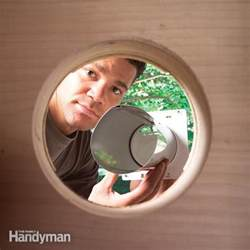 How To Install A Clothes Dryer How To Install A Dryer Vent The Family Handyman