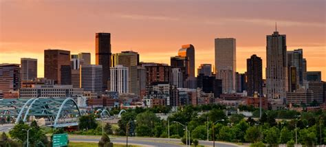 denver the largest city and the capital of the u s state