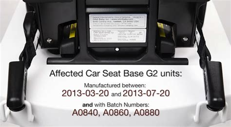 Orbit Baby 174 Announces A Voluntary Recall Of Specific Orbit Baby Car Seat Bases G2 Growing Your