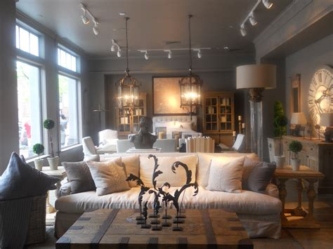 Restoration Hardware Living Room Ideas - restoration hardware living room grey inspiration