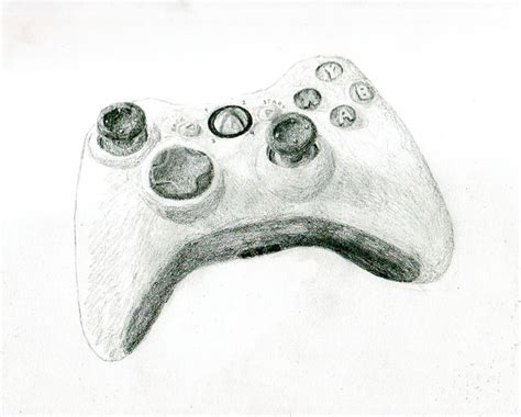 Drawing Xbox by Ecksbawks Controller Sketch By Randomorder On Deviantart