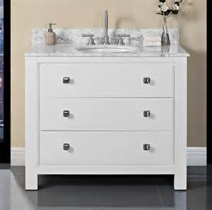 Fairmont Designs Bathroom Vanities Uptown 42 Vanity Glossy White Fairmont Designs