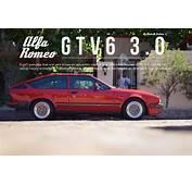 Alfa Romeo GTV6 30  Classic Cars Pinterest