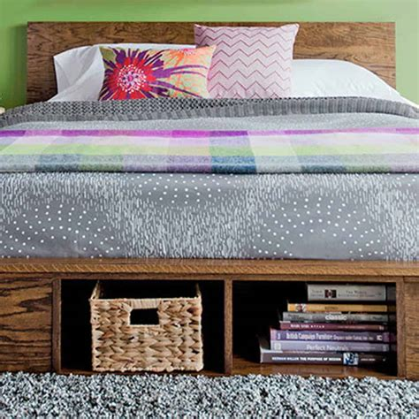 diy platform bed ideas simple  strong constructions