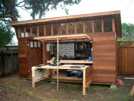 integrating  garden shed design   garden shed