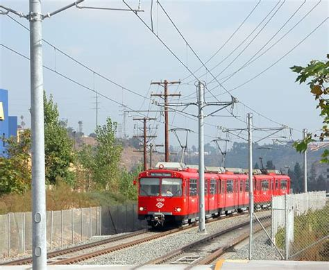 San Diego Light Rail by Fenton Pkwy