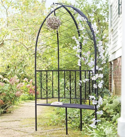 Garden Arbor With Bench Montebello Collection Garden Arbor With Bench Garden