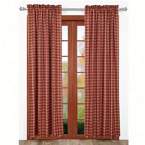 Plaid Curtains Kendrick Plaid Curtains Www Bestwindowtreatments