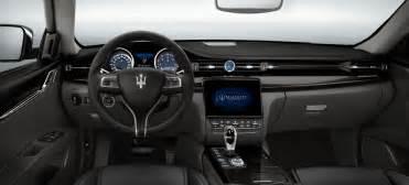 Maserati Quattroporte Interior Maserati Quattroporte S 2017 Interior Image Gallery
