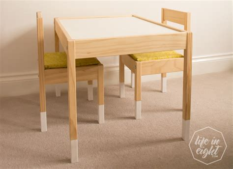 Reading Table And Chair Ikea how to up cycle and protect ikea table chairs and spice racks in eight