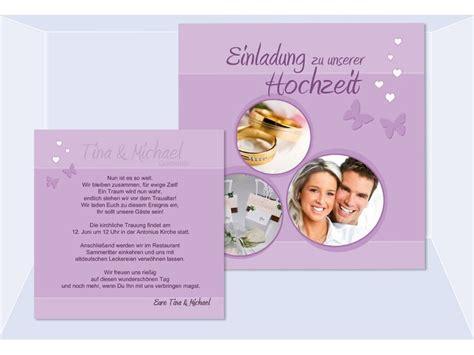 Einladungskarten Hochzeit Flieder by Einladungen Hochzeit Einladungskarten