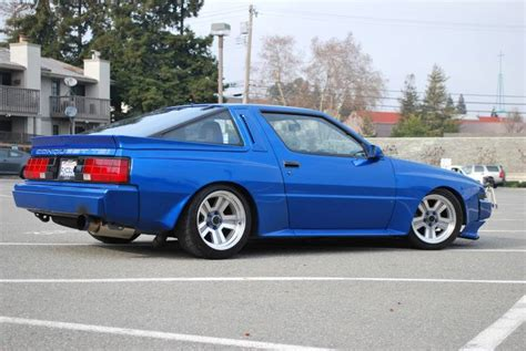 chrysler conquest stanced mitsubishi starion dodge conquest tsi pelican parts
