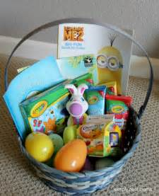 easter baskets for toddlers great free easter basket ideas for your simply real