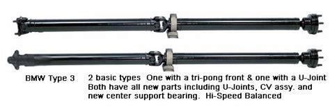 bmw replacement driveshaft remanufactured bmw driveshaft