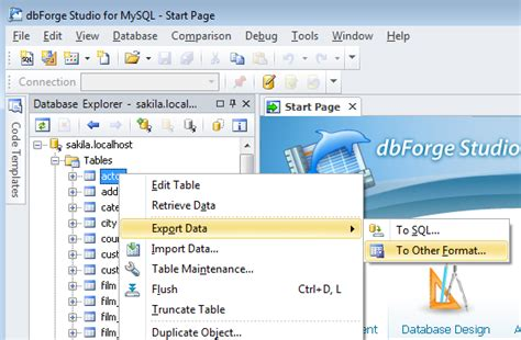 format csv mysql how to export data to csv format using mysql gui client