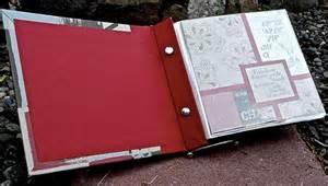 post bound photo album lift bridge cards and crafts how to make a post bound album