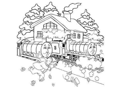 henry tank and gordon the train coloring pages