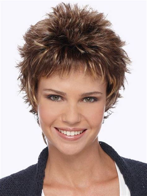 short spiky haircuts for round face women womens short demi petite by estetica short spiky hairstyles new