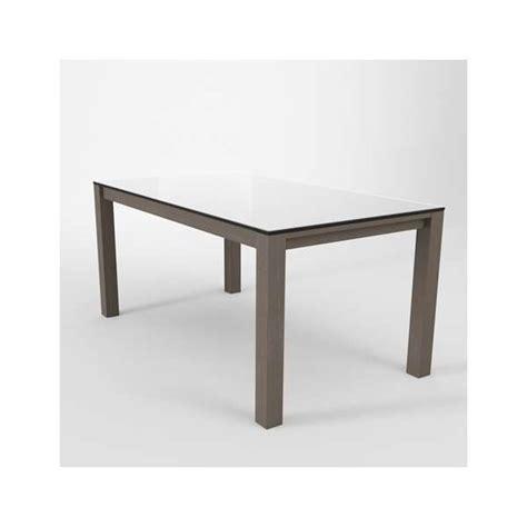 Plateau Table 3628 by Table Moderne En Verre Extensible Quadra 4 Pieds