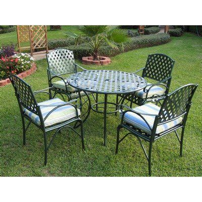 Low Profile Lawn Chairs by Lattice 5 Dining Set By International