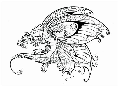 coloring pages dragons and fairies dragons and fairies coloring pages fairy dragon by