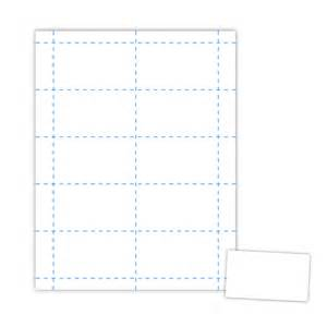 Business Card Sheet Template by 3 5 X 2 Business Card On 8 5 X 11 White 67 Lb