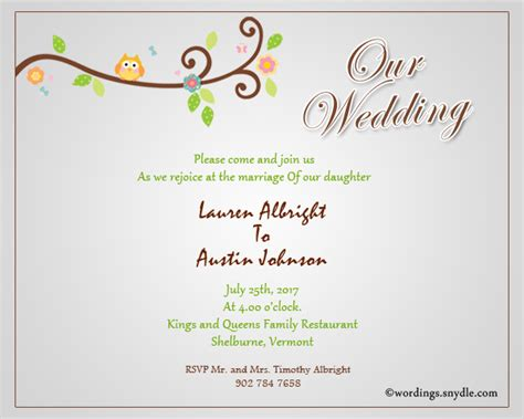Wedding Invitation Wording Sles by Informal Wedding Invitation Wording To Friends Wedding