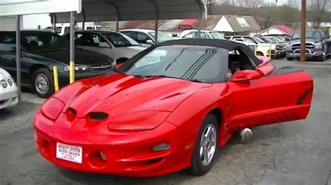 pontiac ws6 trans am for sale 2000 pontiac ws6 trans am ram air convertible for sale on