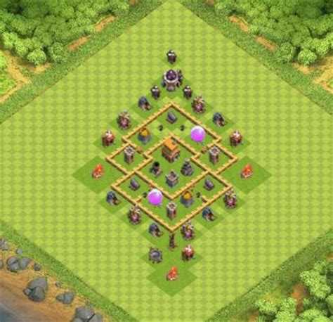 village clash of clans hdv 5 coc réponse android & iphone