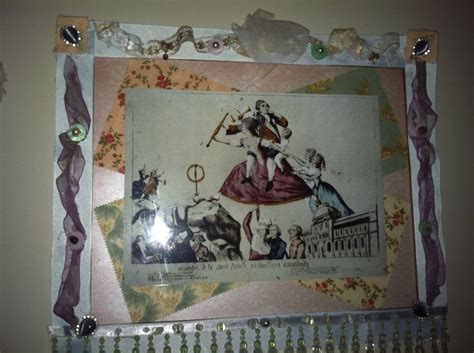 Decoupage Photo Frame - decoupage vintage picture frame diy i did