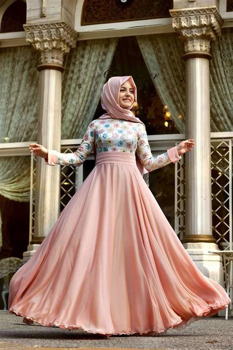 Longdress Cantik Feminim koleksi model dress muslim terbaru incaran para hijabers