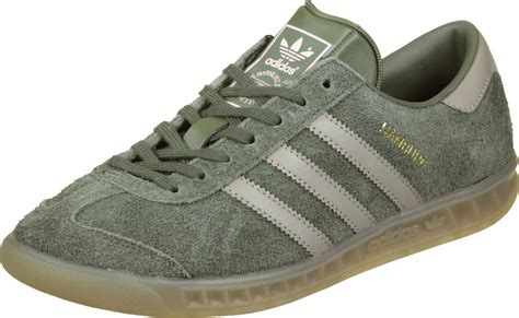 adidas hamburg w shoes green