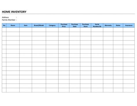 Chemical Inventory List Template   Search Results