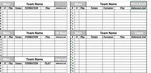 Free Football Depth Chart Template by Depth Chart Template Sle Numerology Chart 7 Free