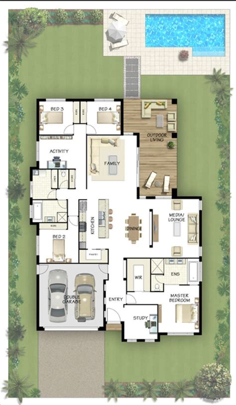 house plans with media room 17 mejores ideas sobre piscinas de nivel del suelo en pinterest cubiertas para piscina y
