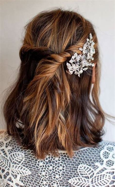 23 simple yet elegant rehearsal dinner hairstyles