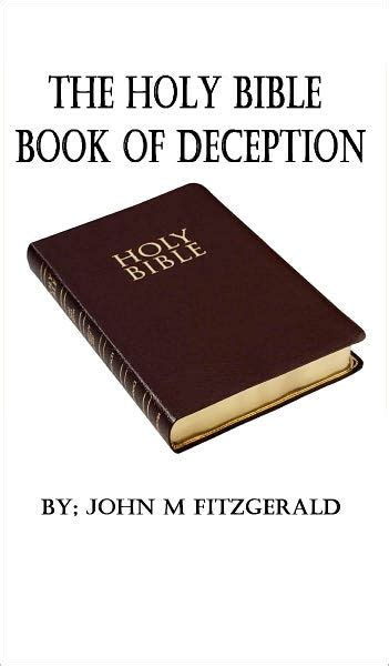 the deception noble books the holy bible book of deception by fitzgerald nook