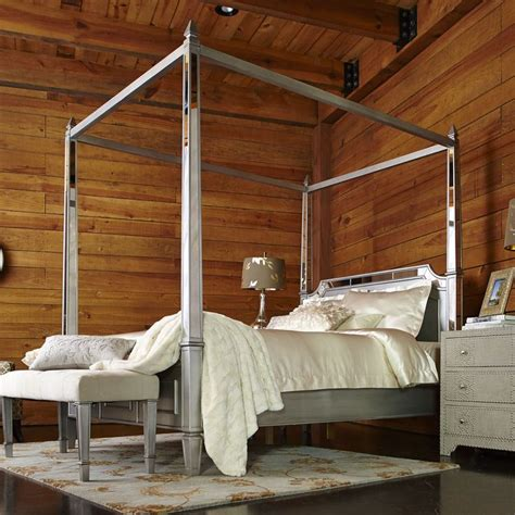 silver canopy bed hayworth canopy beds silver houses pinterest beds