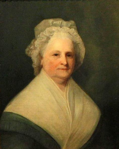 born george washington martha washington wife of our first president george