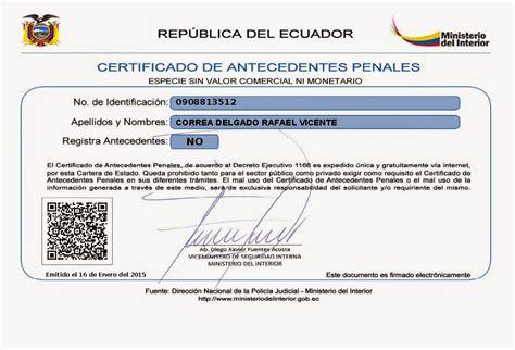 Como Obtener Un Record Criminal En Mexico Como Solicitar El Certificado De Antecedentes Penales Apexwallpapers