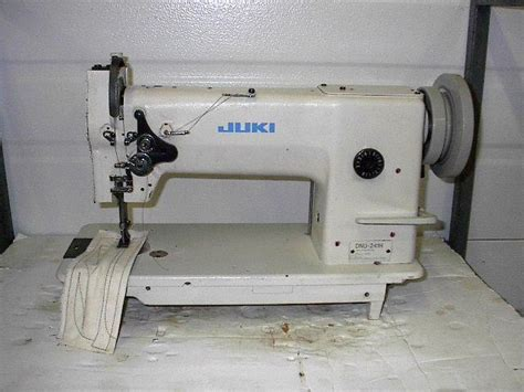 juki upholstery sewing machine juki dnu 241h leather walking foot big bobbin rev