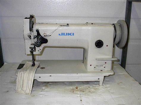 juki upholstery sewing machine juki dnu 241h leather walking foot big bobbin rev