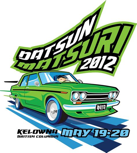 vintage datsun logo datsun 510 greg williams