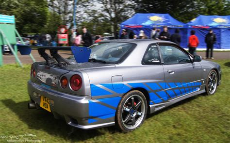 Nissan Skyline Gtr R34 2 Fast 2 Furious Wallpaper