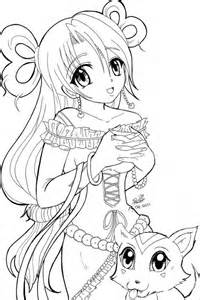 anime coloring pages coloring pages
