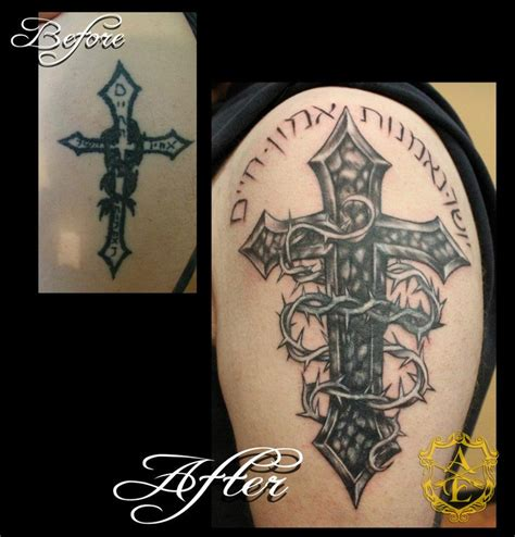 cover cross tattoo 49 best images about from bad to badass cover ups on