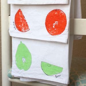 fruit sted tea towel craft cutesy crafts